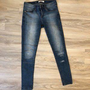 Banana Republic Premium Denim Distressed Jeans